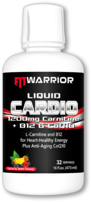 FIT WARRIOR Liquid CARDIO L-Carnitine