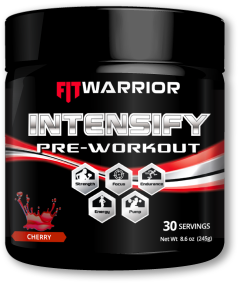 INTENSFIT WARRIOR INTENSIFY Pre-workout,, Cherry