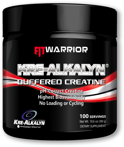 FIT Warrior KREALKALYN Buffered ph-Balanced Creatine
