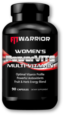 FIT WARRIOR Women's PowerVITE Multi-vitamin