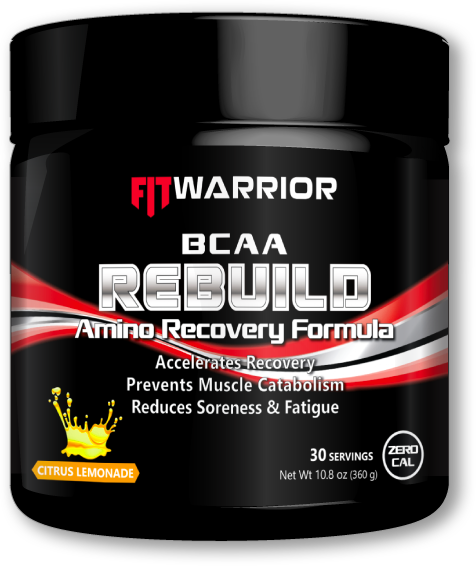FIT WARRIOR BCAA REBUILD Recovery Formula