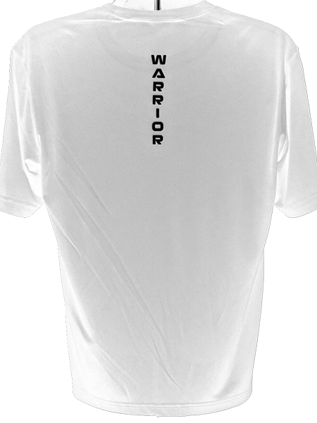 FIT WARRIOR Mens Performance Tee White