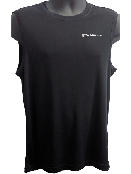 FIT Warrior Mens Sleeveless Performance Tee