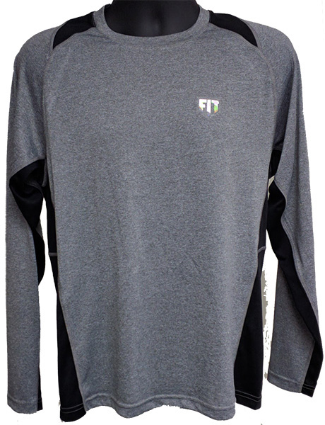 FIT WARRIOR Mens Long-sleeve  Contender Tee