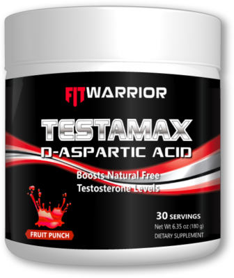 FIT WARRIOR TESTAMAX D-Aspartic Acid Testosterone Booster