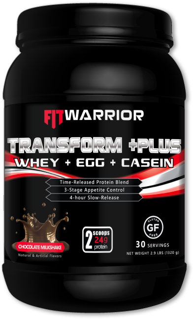 FIT WARRIOR TRANSFORM PLUS Protein, Chocolate Milkshake