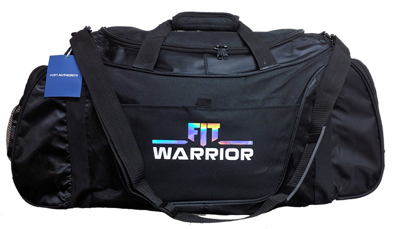 FIT Warrior Gym Duffel Bag - large black