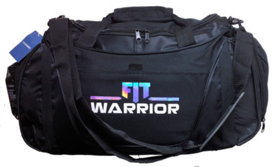 FIT Warrior Gym Duffle - medium black