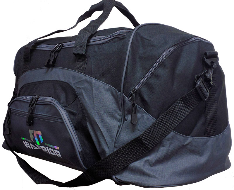 FIT Warrior Gym Duffel Bag - jumbo black/gray