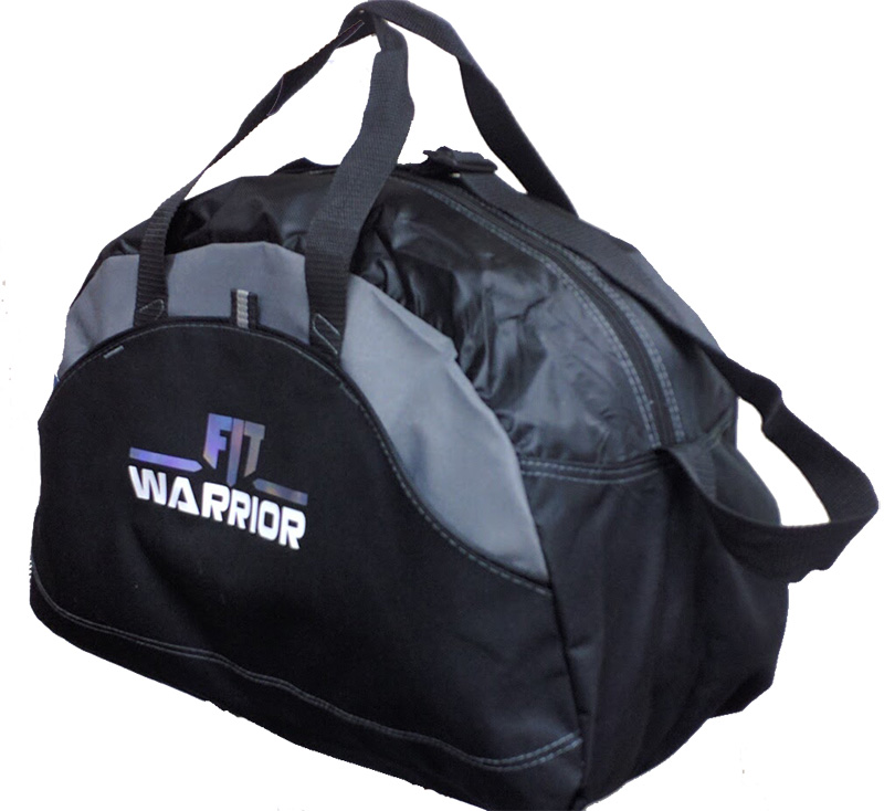 FIT Warrior Gym Duffel Bag - medium black/gray
