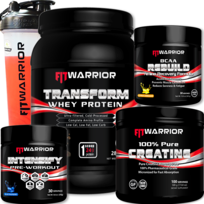 FIT WARRIOR Muscle Build Stack