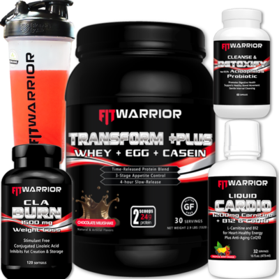 FIT WARRIOR Muscle Burn Stack