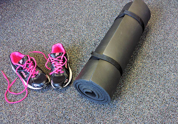 FIT WARRIOR Floor Mat