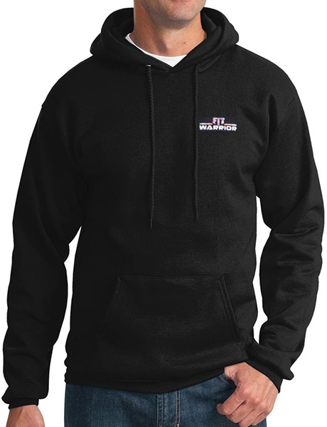 FIT Warrior Mens HD Hoodie